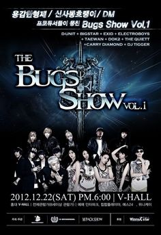Big Star, EXID, and D-Unit to hold 'The Bugs Show Vol. 1′ concert