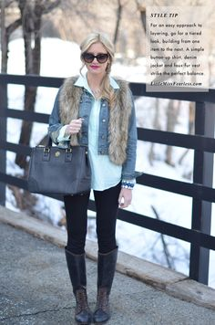 Little Miss Fearless:  layering pieces