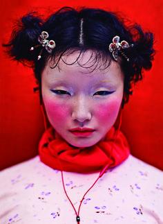 I-D MAGAZINE, MODÈLE : LI ZHENG © CHEN MAN #photography