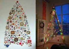 kerst, kerstboom, maken, alternatief, versieren, versiering, kerstversiering, ballen, kerstballen, slingers, lampjes, lichtjes, kerstlampjes, denneboom, spar, stof, strijkapplicaties, strijken, tekenen, diy, zelf maken, creatief, tips, creatieve, ideeën,
