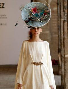 También sombreros en su colección La promenade. Vanessa Gómez