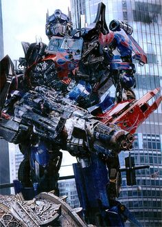 Optimus prime from tf DOTM