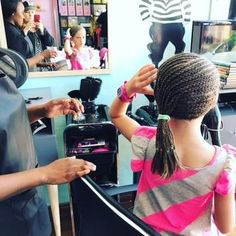 A new hairstyle at Maddy Magoo Fourways Two Daughters, 9 Year Olds, Plaits, Working Moms, New Hair, Parenting, Hairstyle, Bang Braids, Hair Job