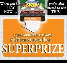 PCH Win 10 Million Dollars Sweepstakes Instant Win Sweepstakes, Online Sweepstakes, Pch Dream Home, Dream Homes, 10 Million Dollars, Win For Life, Win Online, Publisher Clearing House, Congratulations To You