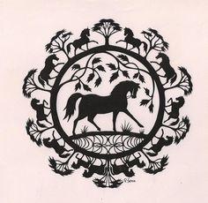 Scherenschnitt Roland Senn Paper Art, Paper Crafts, Animal Silhouette, Kirigami, Paper Cutting, Darth Vader, Image Search, Stencils, Fictional Characters