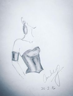 Sketch by me
