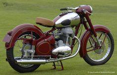 1952 Jawa Model 15 500cc Twin Roadster Motorcycle