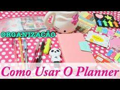Agenda Diário Para Se Organizar | Como Usar Um Planner (Ardium Pastel Di...