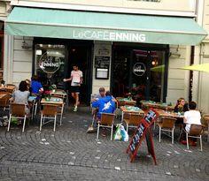 Le Café Enning, Lausanne, Suisse