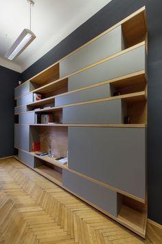 MOBILAMO Massmöbel - Showroom Graz A Shelf, Shelves, Regal Design, Vertical Or Horizontal, Shelf Design, Bespoke Furniture, Open Shelving, Showroom, Designer