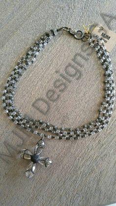 Original Artisan Design Multi layer wired rosary by MJMDesignsGA
