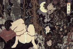"""山本タカト Yamamoto Takato (1960 - ) 夜の淵 """"Edge of the night"""""""