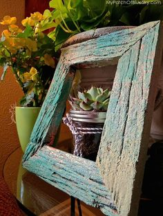 Crusty crunchy finish with copper leaf, Artisan Enhancements products and Chalk Paint® by Annie Sloan. {Sponsored}