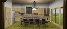 Kitchen Island, America, Design, Home Decor, Island Kitchen, Decoration Home, Room Decor, Home Interior Design