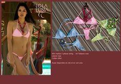 www.lolaluna-shop.com Bikini Tetiatora Pink
