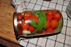 Pomidorki koktajlowe w zalewie po włosku,przetwory Preserves, Pickles, Sugar Free, Cucumber, Gluten, Homemade, Vegetables, Ethnic Recipes, Kitchens