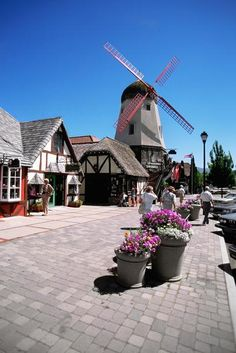 Solvang, California, asked a local what the Danish connection was, she had no idea...