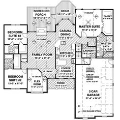 Craftsman Ranch Home Plan 013D-0169 | House Plans and More
