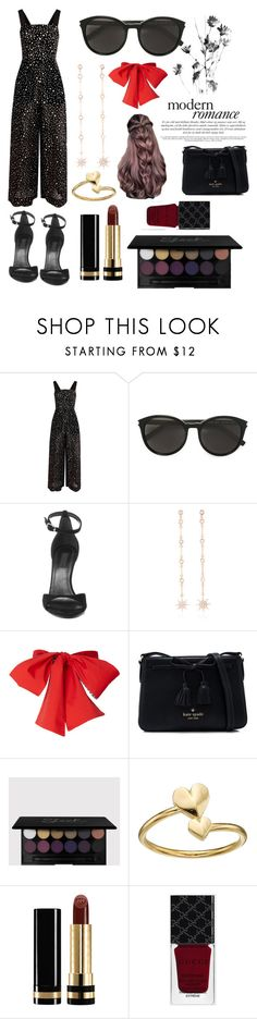 """""""Modern Romance"""" by mainlydisney ❤ liked on Polyvore featuring Diane Von Furstenberg, Yves Saint Laurent, Alexander Wang, Bee Goddess, Kate Spade, Alex and Ani, Gucci and modern"""
