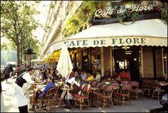 Café parisien, St Germain.  Gac Hervé