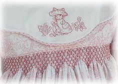 beatrix potter hand embroidery and smocking by dandelionavenue