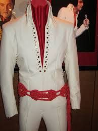 The Nail Swirl jumpsuit worn during the last half of the August 1970 Las Vegas run.