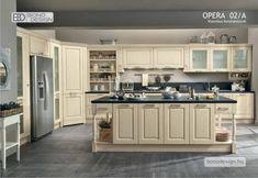 OPERA Klasszikus konyhabútorok Corian, Opi, Backsplash, Kitchen Cabinets, Design, Home Decor, Kitchen Ideas, Google, Rustic Kitchens