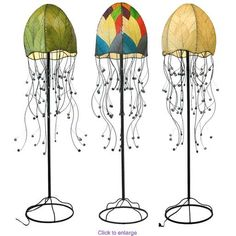 This is the COOLEST looking floor lamp!