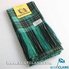Clan MacAlpine Tartan Wool Sash