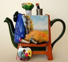 The Cutest Teapots You ever did See | Messy Nessy Chic