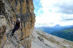 Dolomiti, Via Ferrata Cesare Piazzetta, Piz Boe m), Sella Group Nature Photography, Group, Nature Pictures, Wildlife Photography