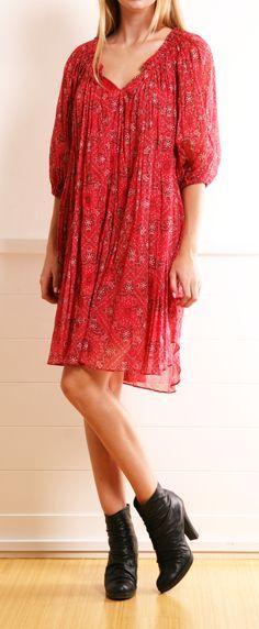 ISABEL MARANT DRESS @Michelle Flynn Coleman-HERS