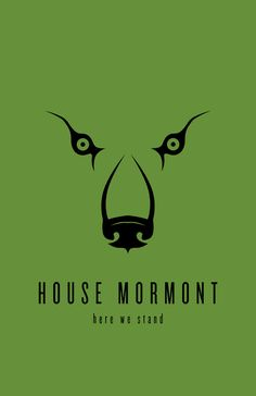 House Mormont Minimalist Poster by ~LiquidSoulDesign