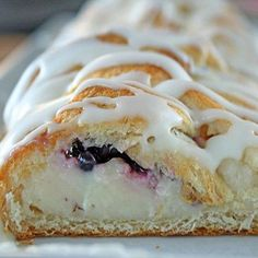 Easy Blackberry Cheese Danish Recipe from Grandmothers Kitchen