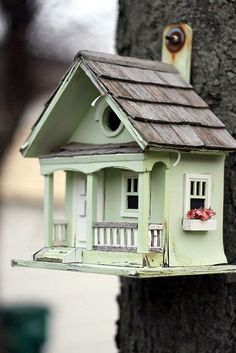40 Beautiful Bird House Designs You Will Fall In Love With - Bored Art