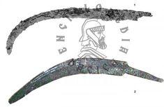 Falx Dacica, temuta armă a dacilor care i-a determinat pe romani să îşi dubleze armura. Putea străpunge coiful, ajungând în craniu - Descopera.ro Romani
