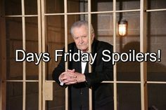 Days of Our Lives (DOOL) spoilers for Friday, August 26, tease that the cops…