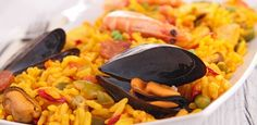 recipes, seafood, rice