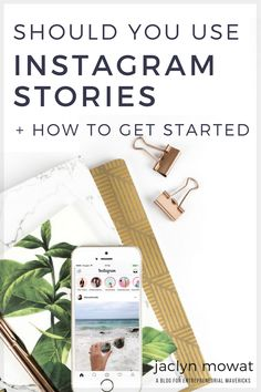 If you love Instagram, but aren't sure whether you should be using Instagram stories as part of your marketing strategy, check out my top 5 reasons why you should be using it. Plus I show you how to get started using it.