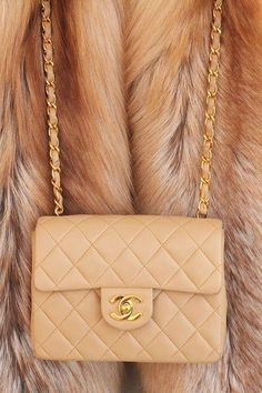 Imagem de chanel, bag, and fur