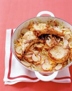 Braised Pork and Cabbage - Martha Stewart One Pot Meals