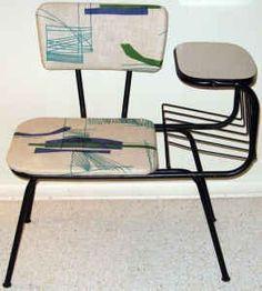 Scavenger: Retro Telephone Table & Chair - $100