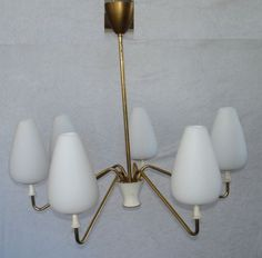 50s-60s-Sputnik-Lamp-Spider-Lamp-6-tulip-glass-shades-Space-Age-Mid-Century