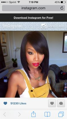 Brandy-bob-short cut-easily done in a weave as well