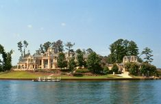 Mansion on a lake.  Yes!!!