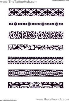 Polynesian Arm Bands | ... Tattoo Hub: Tattoo`s by Type » Polynesian Tribal »…