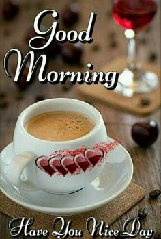Morning Coffee Images, Good Morning Coffee Gif, Lovely Good Morning Images, Good Morning Beautiful Flowers, Good Morning Msg, Good Morning Friends Quotes, Good Morning Friday, Good Morning My Friend, Good Morning Picture