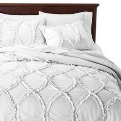 Lush Decor Avon Ogee Textured Comforter Set 3 Piece - Lush Decor® - $89.99