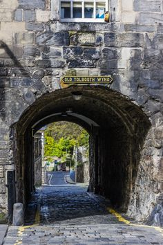 OLD TOLBOOTH WYND by thomas h. mitchell on 500px