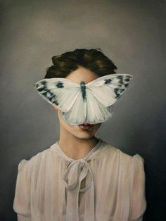 ~Amy Judd tarafından kadın portreleri. http://www.mozzarte.com/sanat/amy-juddgizemli-kadin-portreleri/